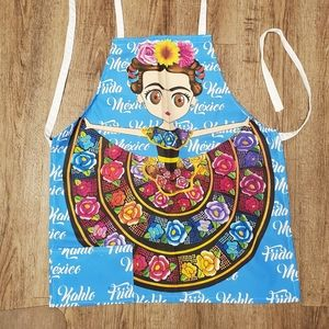 Beautiful bright Frida apron